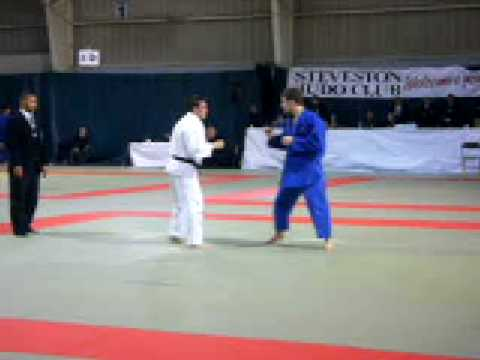 Gold medal Judo match, senior nats qualifier Image 1