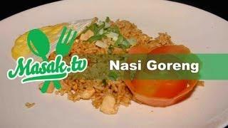 Nasi Goreng - Fried Rice Indonesian Style | Resep #004