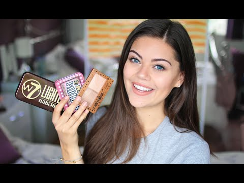 TESTING OUT W7 MAKEUP   FULL FACE OF MAKEUP EVERYTHING UNDER £6.00