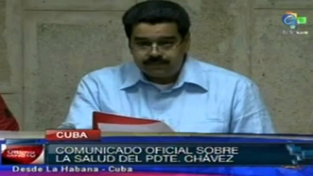 Maduro afirma que existen nuevas complicaciones en el estado de ...