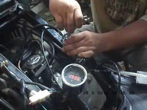 Motor Honda Beat Menggunakan LPG