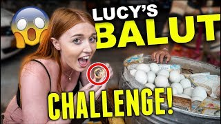 British Girl Eats BALUT in Philippines!
