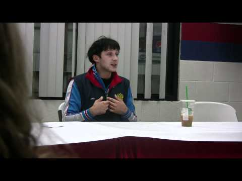 Johnny Weir - The Johnny Weir Experience Q & A