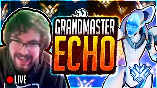 Echo FULL RELEASE! #1 Echo Grind (Top 500/Grandmaster Overwatch Ranked) Samito