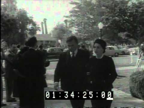 Humphrey Bogart Funeral in Beverly Hills 18 January 1957
