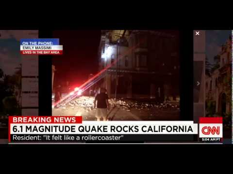 California Earthquake 6 1 mag Napa Valley Rocked Widespread Damage