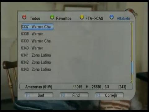 TV Gratis Ramallo Argentina, FTA Amazonas 61W