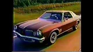 1974 Oldsmobile Cutlass Supreme Commercial