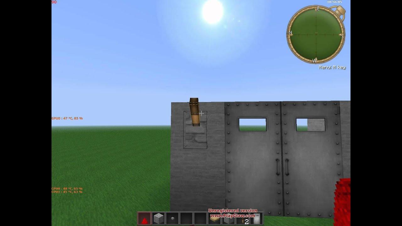 Как сделать ключ в майнкрафте от железной двери