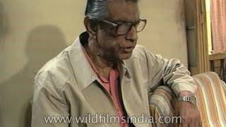 Satyajit Ray on the sets of one of his films: Behind the scene with Ray
