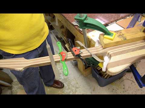 Custom Firebird Guitar Build Luthier Building process Project