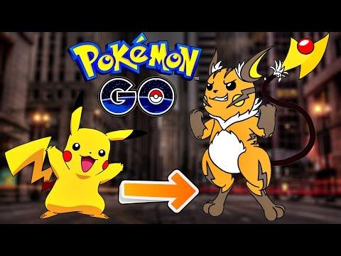 Pokemon Go / Покемон Го ► Эволюция покемона Pikachu ◓ Raichu ► #55