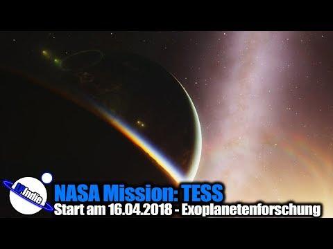 NASA Mission Start 16.04.2018: TESS der Planetenjäger