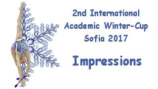 Academic Winter Cup Sofia 2017 - Impressions