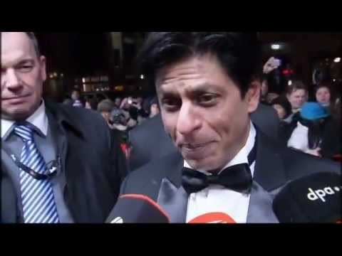 German Tv news Shah Rukh Khan 2012 Berlin film festival