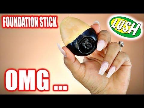 LUSH Slap Stick Foundation Review.. WORTH IT?