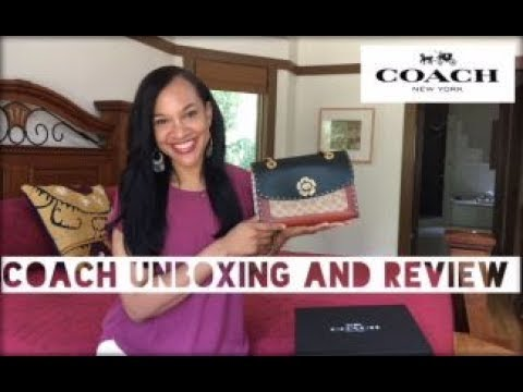 COACH PARKER BAG | Unboxing and Review