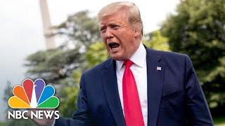 Trump Responds To Shanahan's Withdrawal, Esper's Nomination For Secretary Of Defense   NBC News
