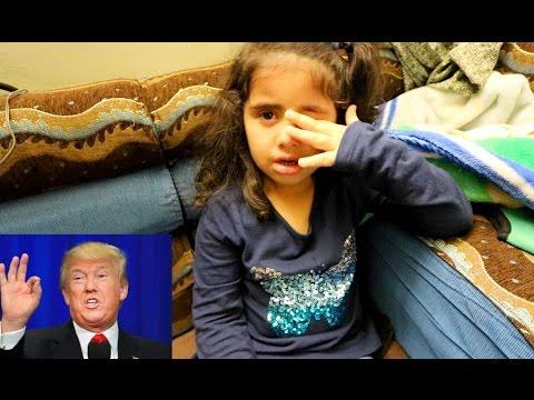 فيديو: طفلة يمنية تبكي بحرقة بعد إعلان فوز ترامب.. نصف مليون مشاهدة في يوم