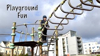 Children In the Park Playground Fun  (Episode 7 ) -Family Holiday Fun Videos