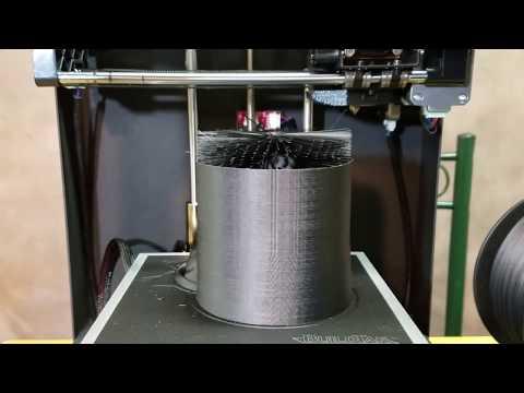 ROBO 3D Carbon Fiber Filament Review / Hairy Lion