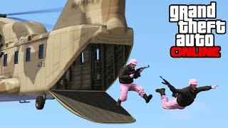 GTA 5 Online - Death Run, Sky Survival Run & BUSTED! || PC