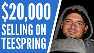 (34.9 MB) Teespring Tutorial - How I Made $20,000 in 8 Weeks Selling T-Shirts Mp3