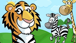 Animals for Kids - Learn Names of Animals for Children | Kids Learning Videos