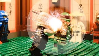 LEGO: Ninjago 2014 Zane VS Donny Battle Torunament (Brickfilm)