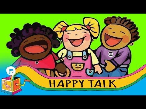 Happy Talk | Nursery Rhyme | Karaoke