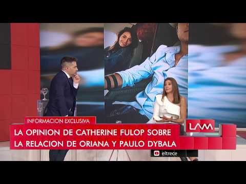Catherine Fulop habló del romance entre Oriana y Paulo Dybala