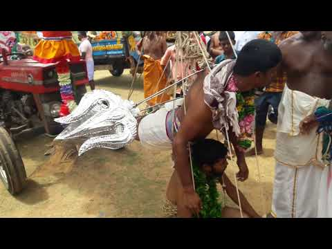 Mathagal nunasai murugan thookku kavadi