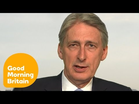 Philip Hammond On The Dangers Of Leaving The EU | Good Morning Britain