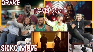 Travis Scott Ft Drake Sicko Mode Official Audio Reaction Review