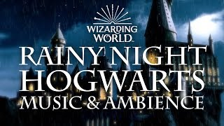 Harry Potter Music Ambience Rainy Night At Hogwarts