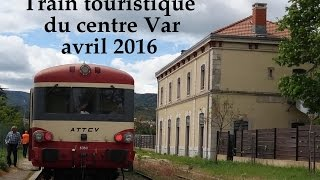 Train touristique du centre Var  Brignoles LC VIDEO