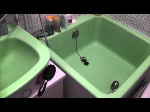 test resinence baignoire youtube. Black Bedroom Furniture Sets. Home Design Ideas