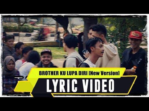 ANJAR OX'S - Brother Ku Lupa Diri [New Version] ( Lyric Video )