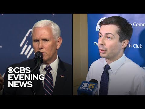 Pete Buttigieg confronts Pence over religion ahead of 2020 bid