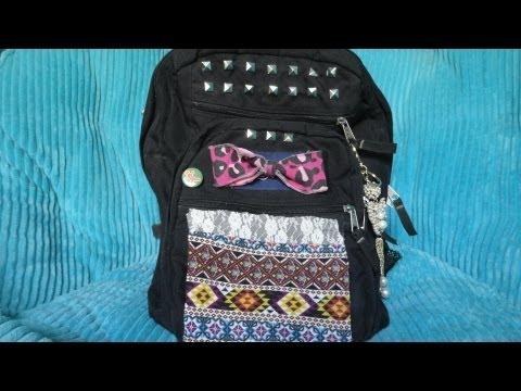 Easy DIY Backpack Decoration!