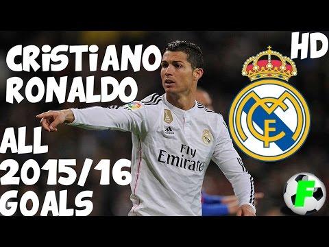 Cristiano Ronaldo - All 2015/16 Goals HD