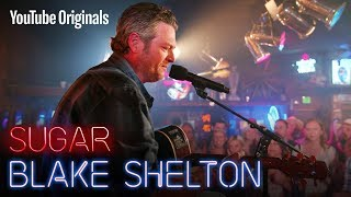 Blake Shelton surprises a fan inspired by his music while in foster care.