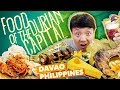 GIANT TUNA TAIL & Filipino Food Tour in Davao Philippines, DU...