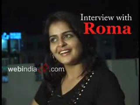 Interview With Roma Asrani - Malayalam Actor video