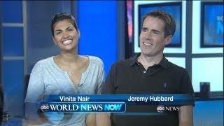 Jeremy Hubbard and Vinita Nair Visit ABC News