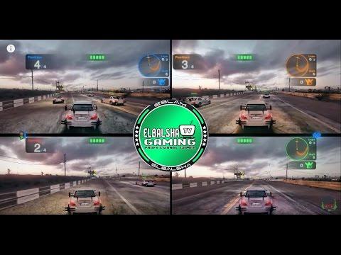 تشغيل يد التحكم على لعبة Blur للكمبيوتر