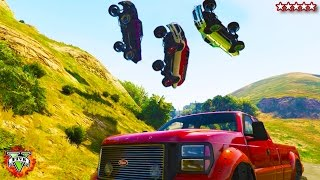 GTA 5 Off-Roading!!! - CUSTOM TRUCKS!!! GTA 5 - Hanging With the Crew Grand Theft Auto 5