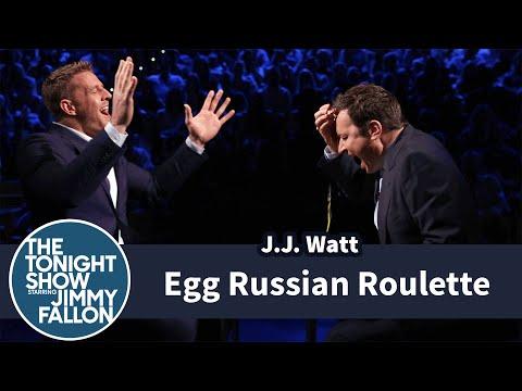 Egg Russian Roulette with J.J. Watt