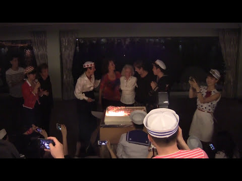 Jean Veloz - 90th birthday dance and cake