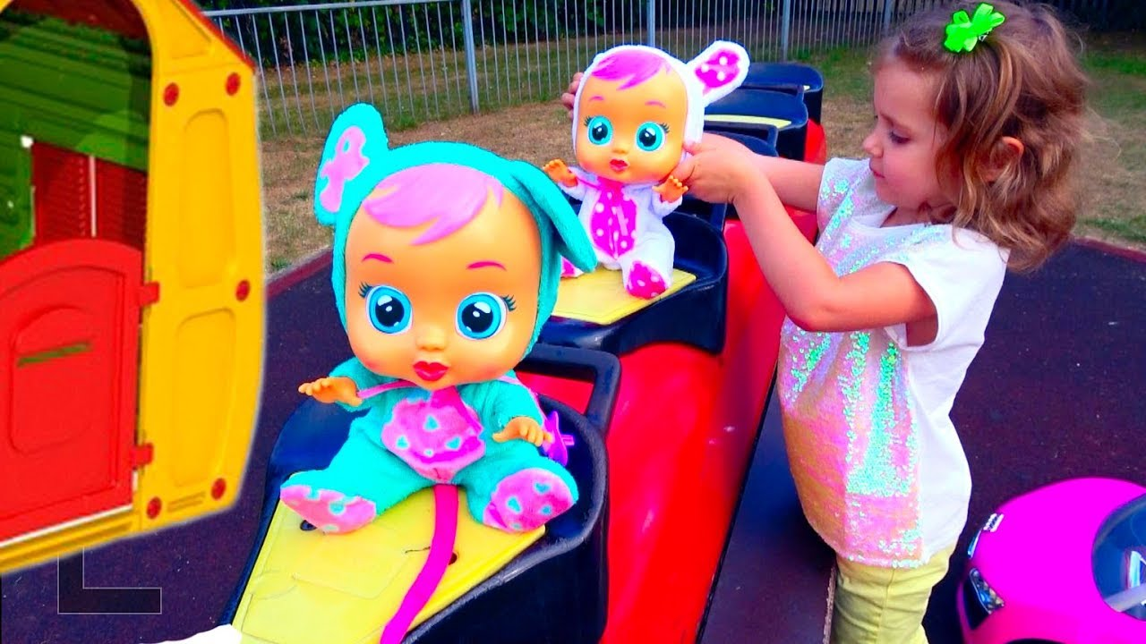 Как МАМА СБОРНИК Katy Pretend Play with Baby DOLL and REBORN for kids Funny video Compilation